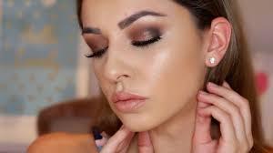 beginners brown smokey eye makeup tutorial hooded eyes youtube