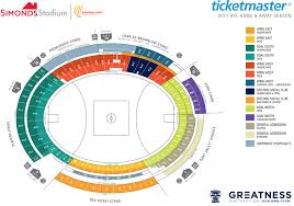seating maps geelong cats