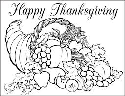 thanksgiving day coloring pages getcoloringpages