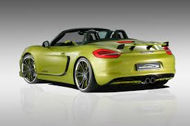 porsche boxster rear speedart sp81 r based on porsche boxster s