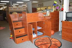 Captains Bunk Beds Berg Furniture Collection Captain S Bed With Cabinet