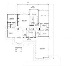 model 2947 4br 2 5ba southern integrity enterprises inc perspective front elevation floor plan with dimensions