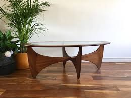 G Plan Coffee Table Teak - mid century g plan astro oval coffee table vintage retro habiib