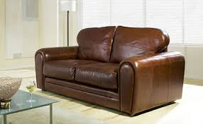 Brown Leather Sofa Bed Stunning Sofa Bed Leather Leather Sofa Beds Maela Home Ideas