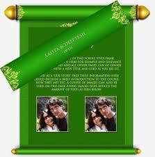 indian wedding scroll invitations indian wedding scroll invitation card style by modernstork