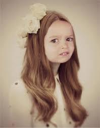 Little Girl Face Meme - side eyeing chloe know your meme