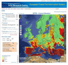 European Weather Map by Ies Institute For Environment And Sustainability Forest Fire