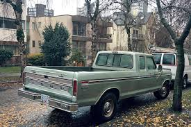 Ford Ranger Truck Bed Camper - old parked cars vancouver 1974 ford f 350 ranger xlt supercab