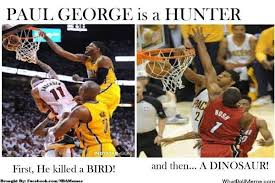 Paul George Memes - nba memes on twitter a hunting paul george http t co wbmbwohsjv