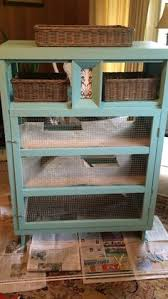 Home Made Rabbit Hutches Rabbit Hutch Ideas Made From Repurposed Furniture Ok Before We