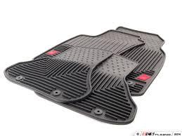 genuine audi a4 car mats genuine volkswagen audi zaw179004blk all weather rubber floor