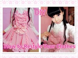 old cloth halloween background kawaii diy dress how to restyle your old clothes to dress