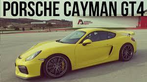porsche cayman racing 2015 porsche cayman gt4 racing yellow interior exterior and drive