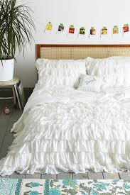 Cynthia Rowley Duvet Cover Best 20 White Ruffle Bedding Ideas On Pinterest Lace Bedding