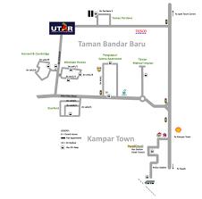 Bus Route Map Universiti Tunku Abdul Rahman