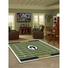 home interiors green bay green bay packers 5x8 rug