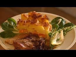 cuisiner la palette de porc recette palette de porc et gratin de courge butternut météo à