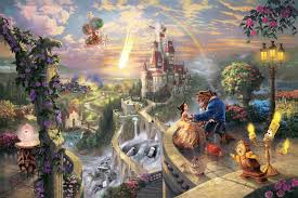 home interiors thomas kinkade prints kitsch