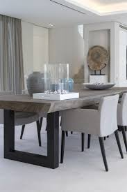 Gray Dining Room Ideas by Best 25 Modern Dining Room Tables Ideas On Pinterest Modern