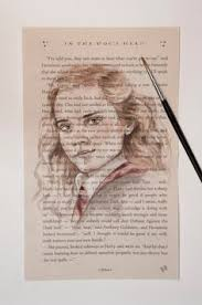 original hermione granger watercolor harry potter book