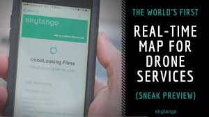 World Time Map The World U0027s First Real Time Map For Drone Services Sneak Preview