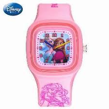 disney snow ice romance silicone jelly watch fashion cartoon