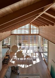 make architecture adapted japanese sliding timber screens to