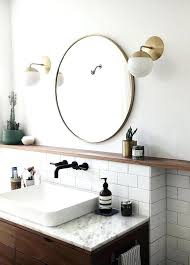 brass bathroom mirror brass bathroom mirror metal framed mirror round polished brass