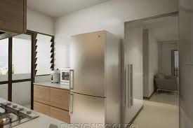 bto kitchen design hdb bto 4 room scandinavian at dawson skyville scandinavian modern