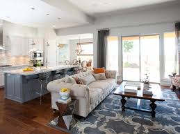 simple open concept kitchen and living room images home design