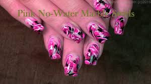 pink water marble nail art without water video dailymotion