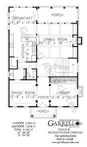 Colonial Style Floor Plans by Glennwood House Plan House Plans By Garrell Associates Inc