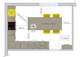 cuisine taille dimension ilot central cuisine ctpaz solutions à la maison 7 may
