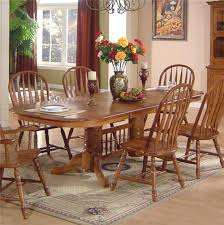 Dining Room Set Dining Room Sets With Captain Chairs Set Table Oak Upholstered