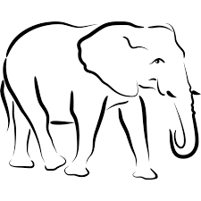 elephant circus animals coloring pages for babies hellocoloring
