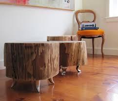 Tree Trunk Table Elegant Nest Diy Tree Stump Table