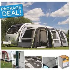 390 Awning Kampa Rally Air Pro 390 Plus Inflatable Caravan Awning Package