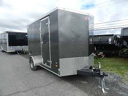 V Nose Enclosed Trailer Cabinets by American Hauler 7 X 12 V Nose Enclosed Trailer Ramp Door