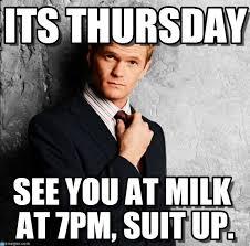 Suit Meme - its thursday barney stinson meme on memegen
