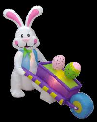 Easter Bunny Outdoor Decorations by Easter Yard Decorations Holly Jolly Holidays