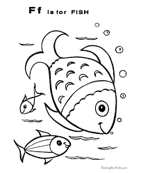 fish coloring pages print fish coloring pictures 026