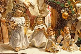 Christmas Angel Table Decorations by Italian Christmas Decorations