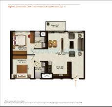 2 bhk 1400 sq ft apartment for sale in wave city center