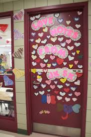 Valentines Decorations For Preschool Classroom by Backyards Door Decorating Second Place Valentines Day