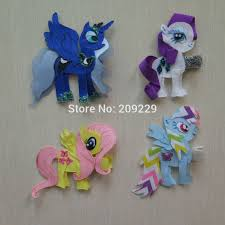 wholesale hairbows free shipping 50pcs lot my pony pack a ribbon sculpture