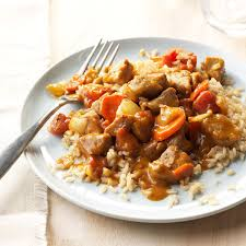 halloween city findlay ohio peanut butter pork curry recipe taste of home