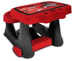 bureau cars disney disney pixar cars activity desk with storage compartment