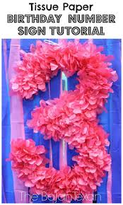 Party Decorations To Make At Home by Best 25 Tissue Paper Decorations Ideas That You Will Like On