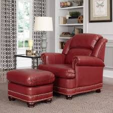 Armchair And Ottoman Club Chairs On Hayneedle Upholstered Club Chairs