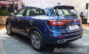 renault koleos 2017 engine 2016 renault koleos 2 5l launched in malaysia priced at rm172k